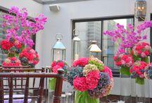 Floral Arrangements / @FlourishMcr
