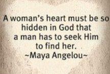 a women's heart