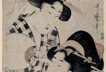 Estampas japonesas en el Prado / Estampas japonesas de la colección del Museo del Prado (desde 1936) con obras desde el siglo XVII