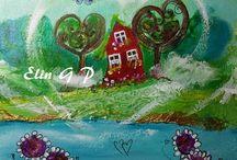 ART BY  ELIN G P / Min kunst