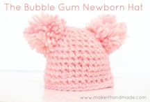 Crochet Baby Beanies and Bottoms