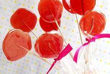 Lecca lecca e lollipop per le feste