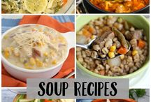 Hearty Foods / Soups, casseroles, holiday meals, healthy snacks, good recipes and more