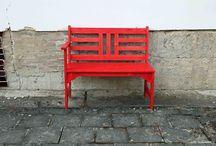 Jak natřít lavičku