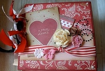mini albums and journals / I love handmade albums and journals, they make great gifts / by Carol Boyd