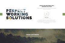Web Design / Inspirations