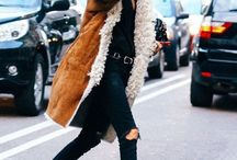WINTER / Outfit inspiration for the colder months. Cosy knits, warming beanies, toasty nights with a warm drink.