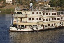 Egypt Nile luxury steamers
