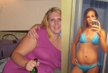 Before and After - Women's Weight Loss / Before and After Pictures of Women who transformed themselves and lost weight.
