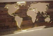 Holz -weldkarte