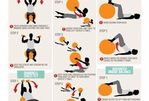 stability ball workouts and exercises / Find out all the different things you can do with a stability ball.