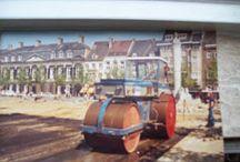 walz asfalt Maastricht / asfalt walze