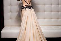 Long dresses.