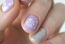 nails winter & christmas