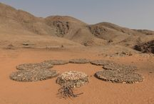 Namibia / Land art installations