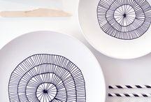 Desenhos para porcelana