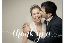 "PHOTO Thank You Cards / Say ""thanks"" to your guest by adding a wedding, engagement, or shower photo your thank you cards. Your friends and family will keep it forever!"