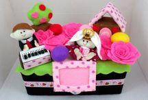 Kotak Tissue Flanel / Handicraft, handmade