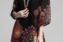 vestido de lenço