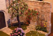 Dollhouse gardens