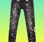 pantalones pintados jeans