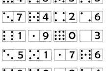 Škola - matematika, čísla