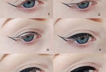 How to do the eyeliner wing