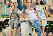 Fashion royalty dolls