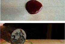 sello de cera (stamping)