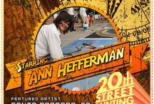 Starring ...  / The 20th Annual Street Painting Festival Premieres February 22 & 23, 2014 - Starring ...