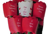Valentine's Day  / Valentine's Day is a holiday that celebrates love and is observed by exchanging a wide assortment of gifts. Send your special someone paper roses or any of our other products that will show how much you love them!