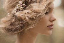 Wedding-style styles  / Wedding make-up and hair inspiration