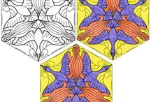 APFK Tessellations / Mix math and art with my APFK Tessellation projects