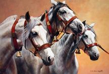 JUDY KENT PYRAH / Horse painter