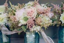 wedding flowers. / by Samantha Parmerlee