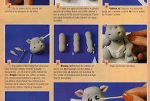how to's fondant animals