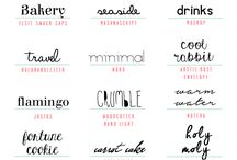 fOnTs / Fonts galore, calligraphy, writing, creative lettering, monograms, initials & more