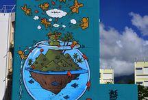 Street art Réunion / Artistes et œuvre From Reunion!
