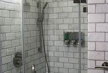 Bathroom Designs / These are bathrooms in apartments and houses by Fontan Architecture.
