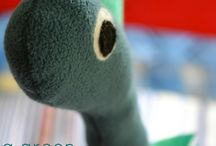 machine sewing - soft toys