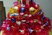 my choc/lolly bouquets / Bouquets available in canterbury nz. Look me up on facebook (sweet treat bouquets)