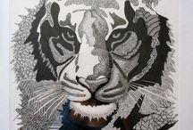 Arts (grafficheskoe work) My creative work / My creative work