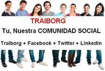 TRAIBORG / En TRAIBORG podrás gestionar tus cuentas de facebook, twitter y linkeding desde una única plataforma, además podrás anunciarte en los nichos de mercado que prefieras, así como ganar por ello. También dispondrás de sala de conferencias online propia y muchas más herramientas de marketing.