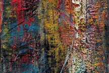 Richter, Gerhard / Abstract paintings