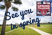 2015 Spring Training / Pitchers and catchers report to Jupiter, FL for 2015 Spring Training on February 19th!