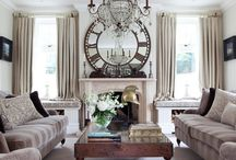 Living Spaces and More / Decorating ideas for the living room / by Diana Atkinson
