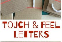 touch and feel letters