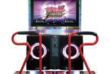 arcade video game (dance)