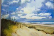 Mes tableaux / peintures à l'huile et pastel