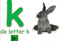digibordles letter K